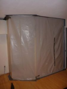 Mold Remediation Vapor Barrier