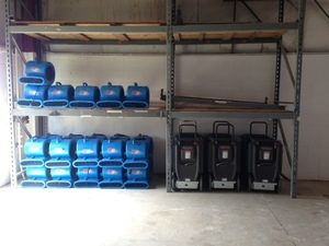 Sewage Backup Cleanup Equipment