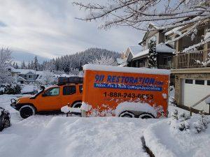 water-damage-restoration-vehicle-snow-snow
